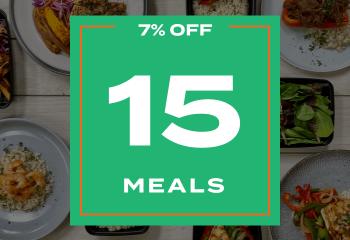 Any 15 meals