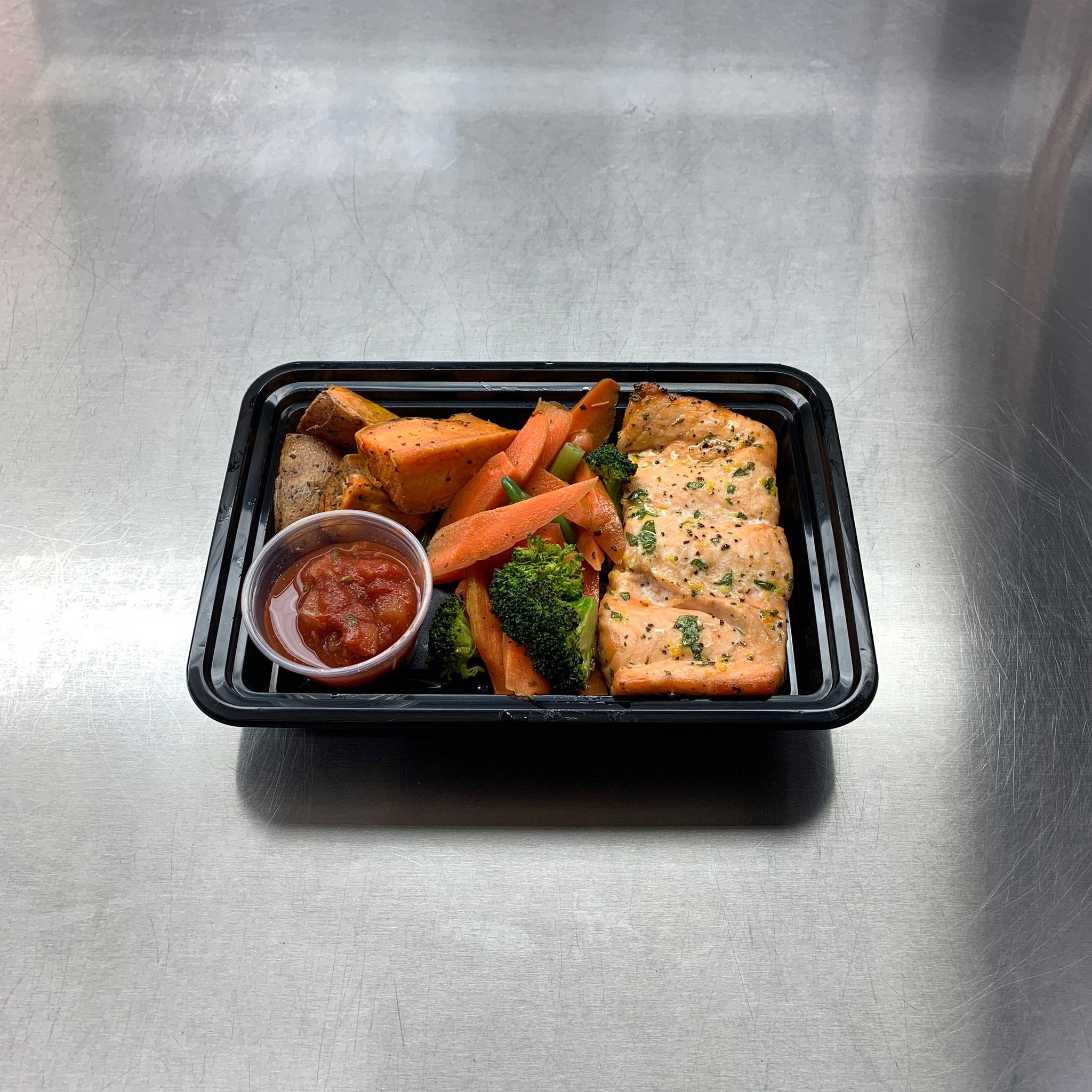 Cilantro Orange Salmon